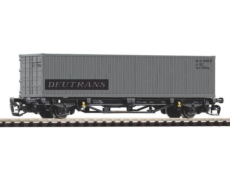 Containertragwagen Lgs579 DR IV 1x40 Deutrans, Spur TT