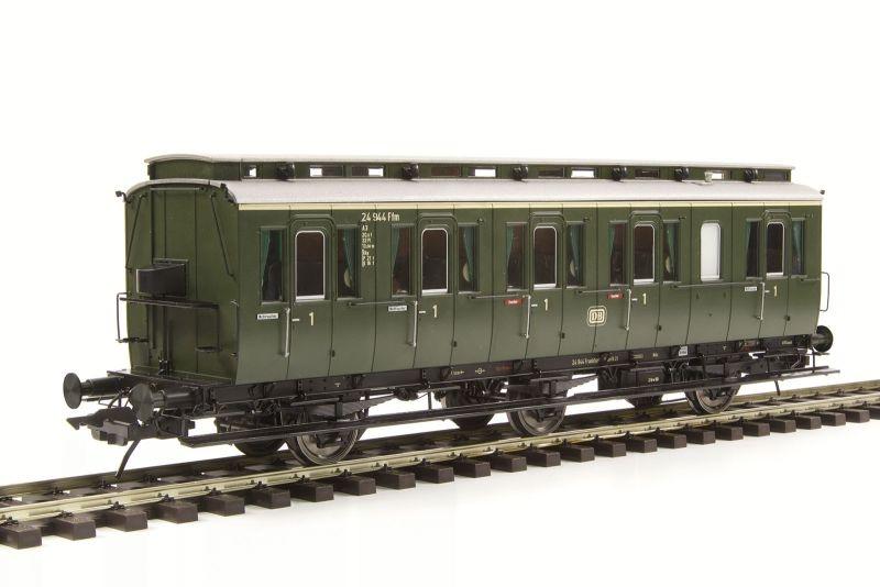Preußischer Abteilwagen Bauart B3 Pr 10a, 1. Klasse, Spur 0