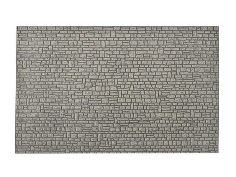 Mauerplatte Haustein, L 54 x B 34,6 cm, Spur G