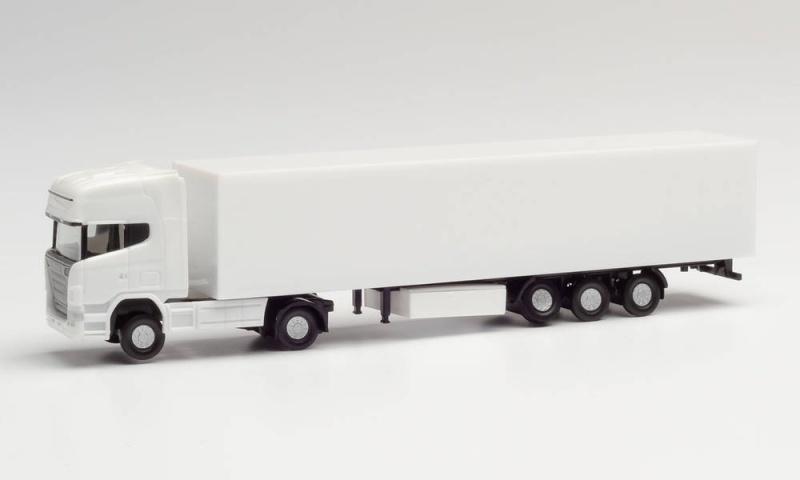 N/MiKi Scania R TL Koffer-Sattelzug 1:120, weiß