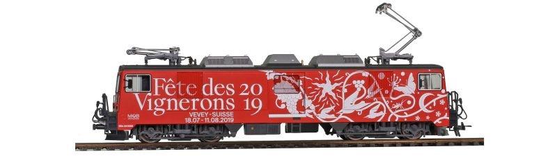MOB GDe 4/4 6005 Fête des Vignerons Universallok, Spur H0m