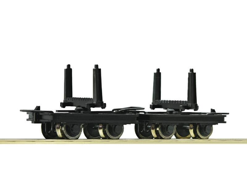 Güterwagen-Set Drehschemelloren 2-tlg. H0e