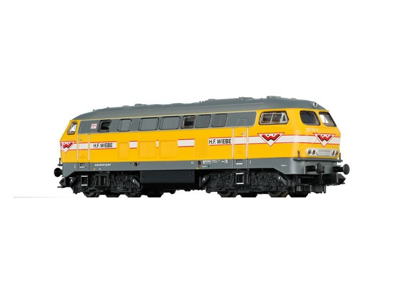 Diesellokomotive BR 216 der H.F. Wiebe, Sound, DC, V, Spur N