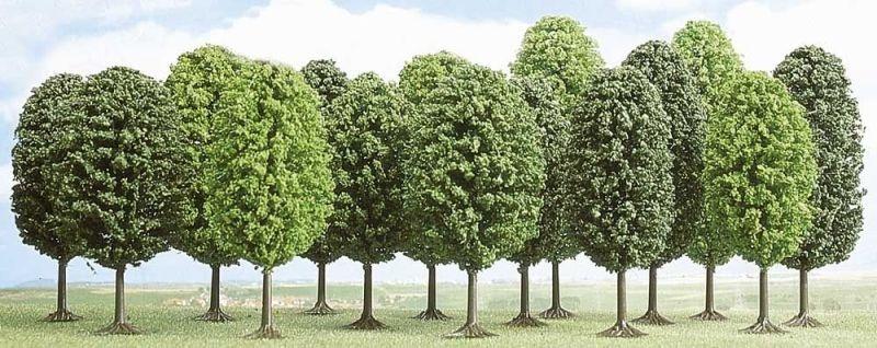 15 Laubbäume, Spur N