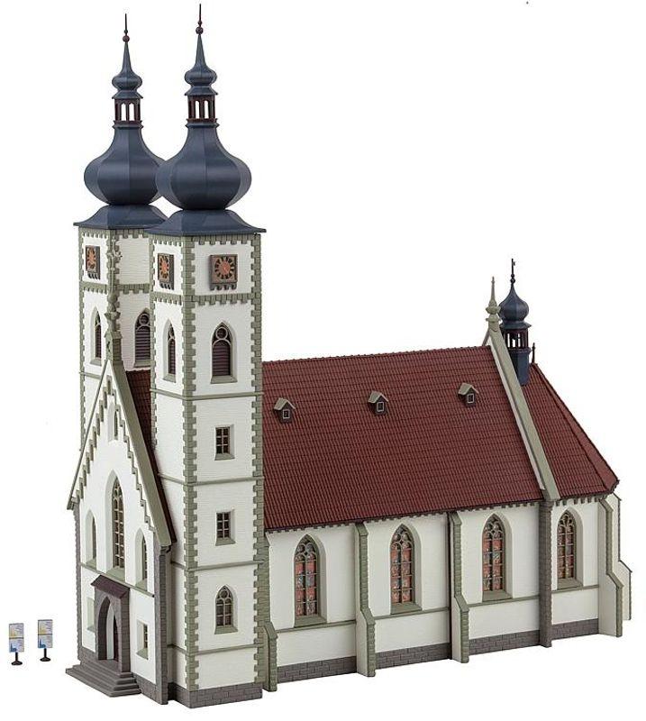 Stadtkirche, Bausatz, Spur H0