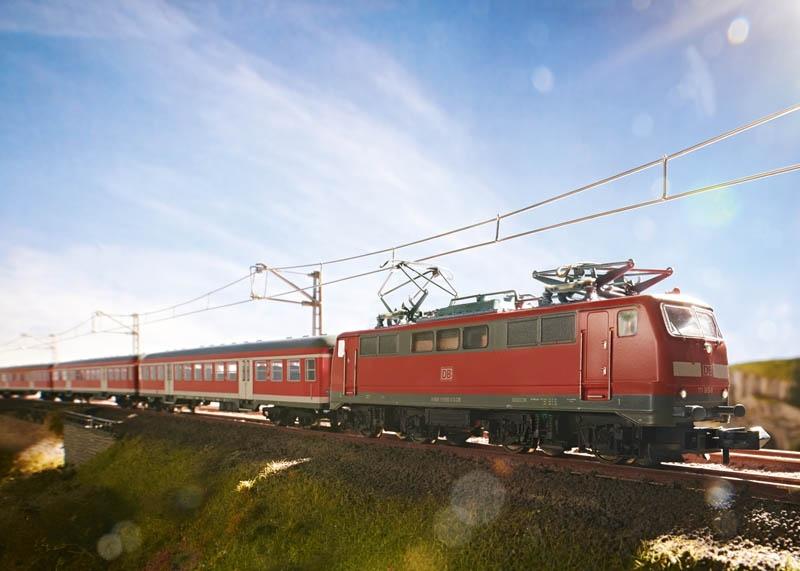 E-Lok Baureihe 111 DB AG Spur N