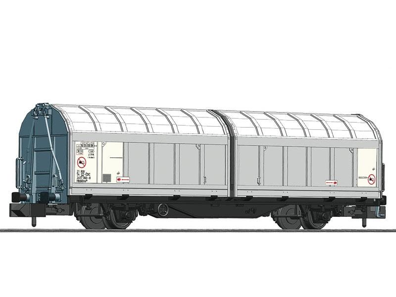 Schiebewandwagen der CD-Cargo, Spur N