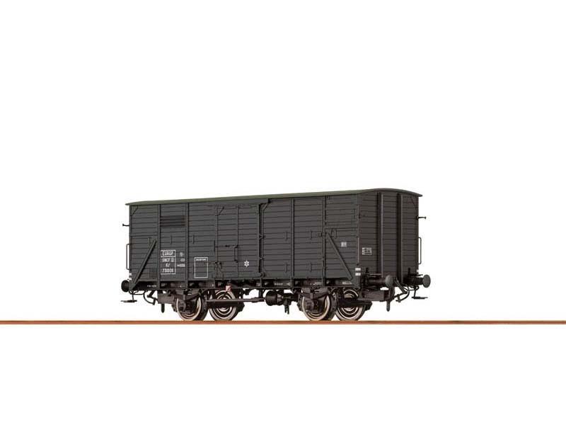 Gedeckter Güterwagen Kf2 der SNCF, III, DC, Spur H0