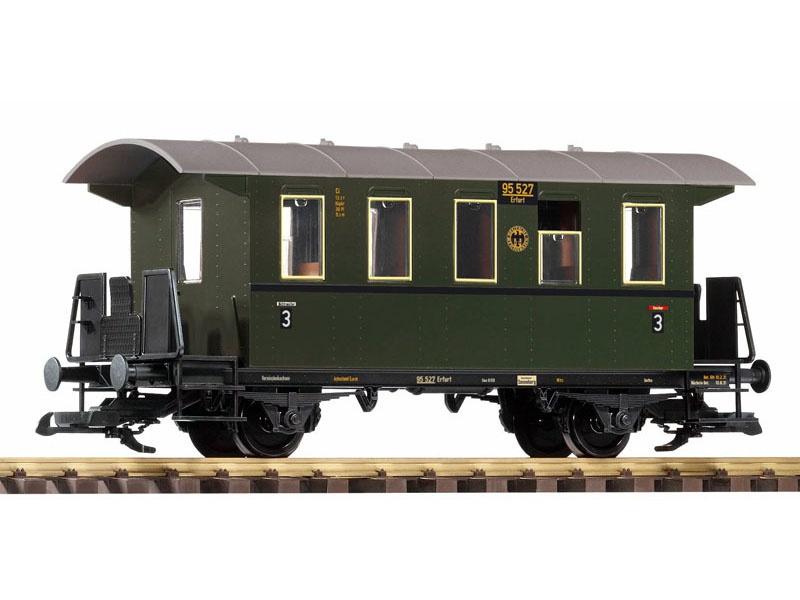 Personenwagen 3. Klasse der DRG, II, Spur G