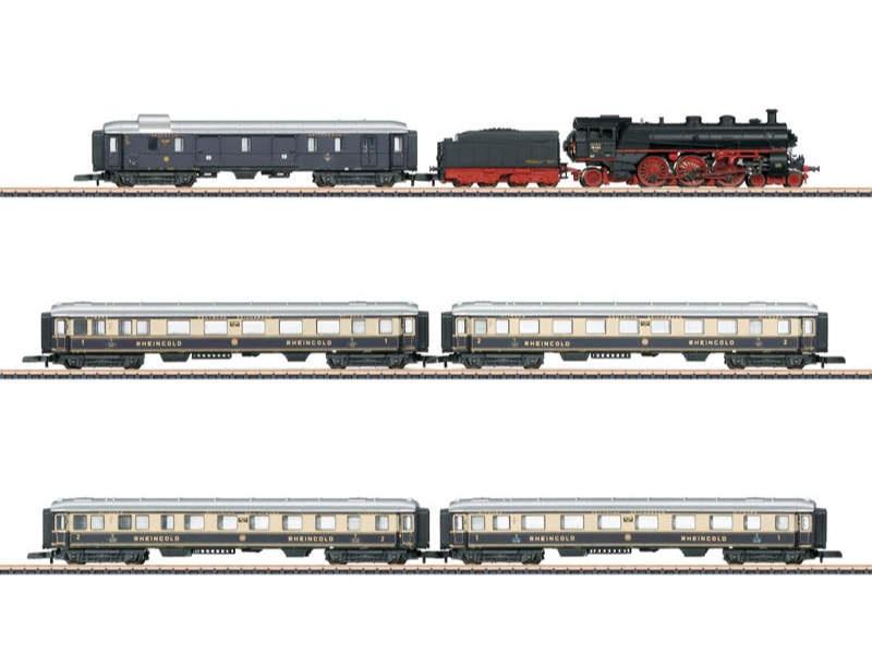 Zugpackung 90 Jahre Rheingold BR 18.4 Spur Z