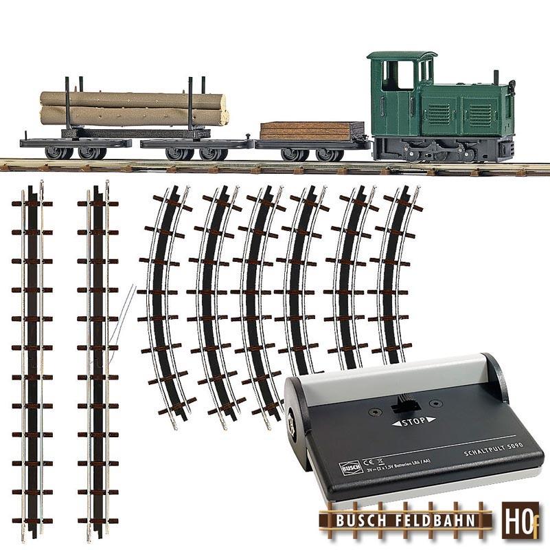 Feldbahn Waldbahn Start-Set, Spur H0f