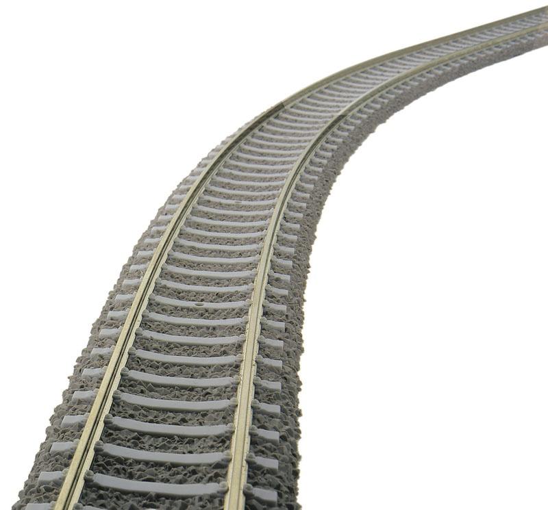 Flexgleis mit Betonschwellen 800 mm Profi-Gleis H0