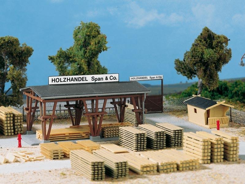 Holzhandel Span & Co., Bausatz, Spur H0