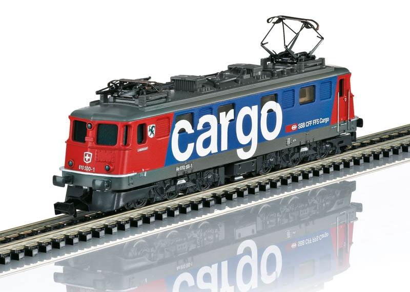 E-Lok Ae 610 SBB Cargo Spur N