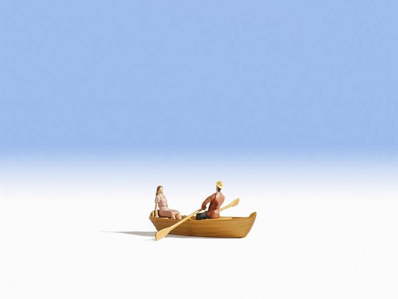 Ruderboot Spur H0