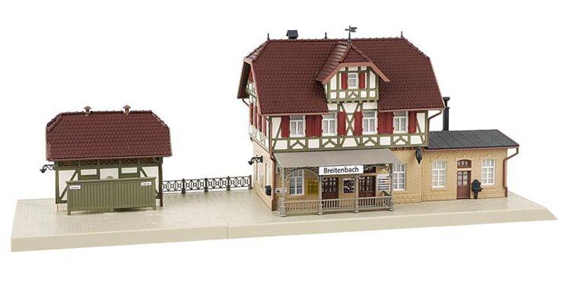 Aktions-Set Bahnhof Breitenbach Bausatz, Spur H0
