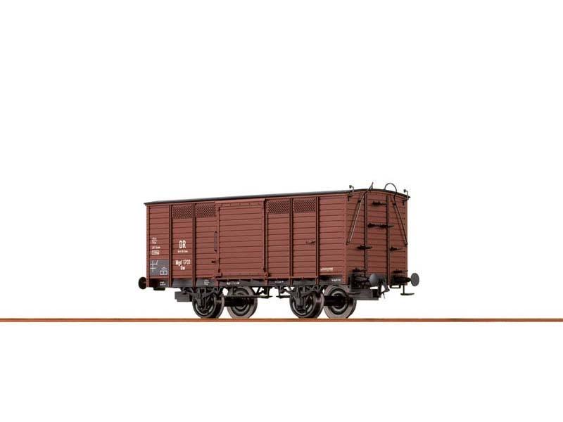 Gedeckter Güterwagen Gw der Brit-US-Zone, III, DC, Spur H0