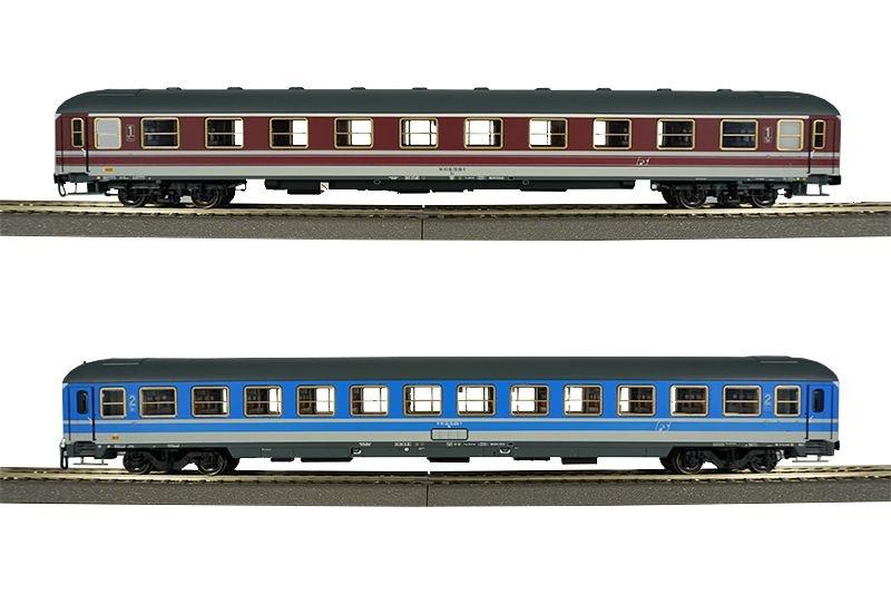 Büfettwagen BRbu4üm-61 der DB, grün, DC, Spur H0