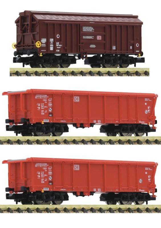 3-tlg. Set 2: Tontransportwagen der DB AG, DC, Spur N