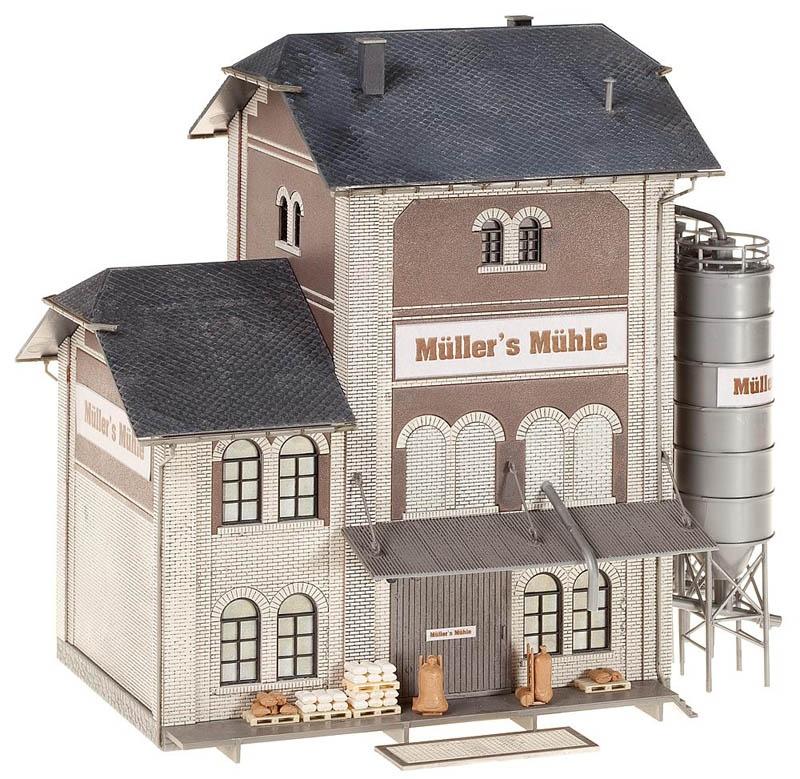Industriemühle Bausatz H0