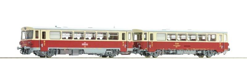 Dieseltriebwagen Rh M 152.0 mit Beiwagen, CSD, Sound, DC, H0