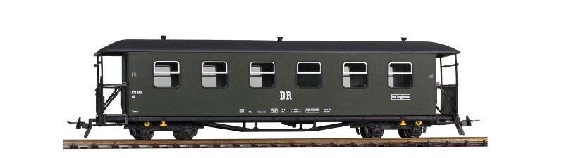 DR 970-605 Personenwagen 2.Klasse Traglasten, Spur H0e