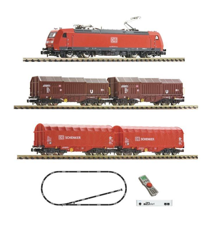 z21 start Digitalset: E-Lok BR 185.1 + Güterzug, DB, Spur N