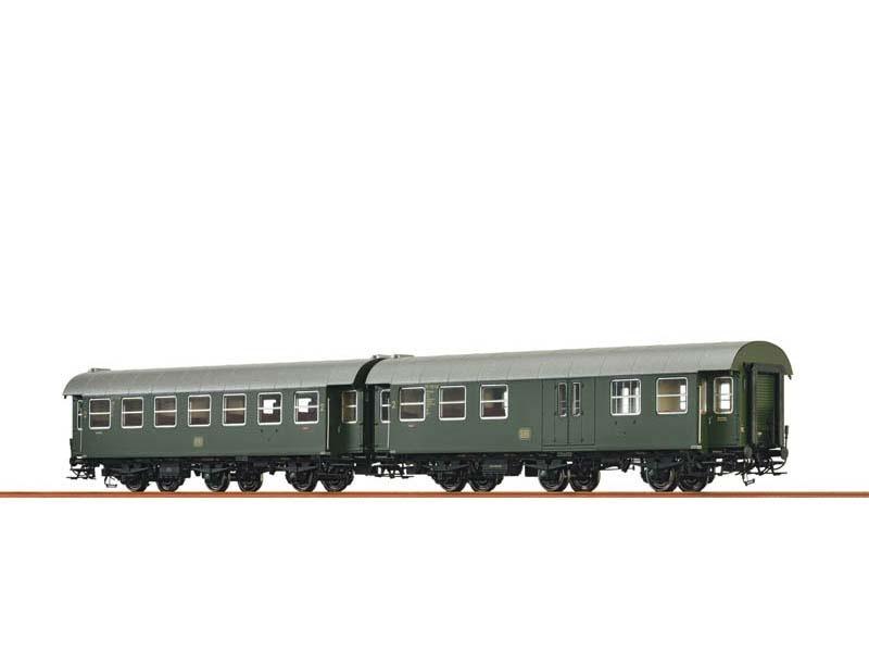 2er-Set Personenwagen B3yge/BPw3yge der DB, III, Spur H0