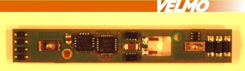 Lokdecoder DCC / SX passend für BR218, BR216, V-160, Spur Z