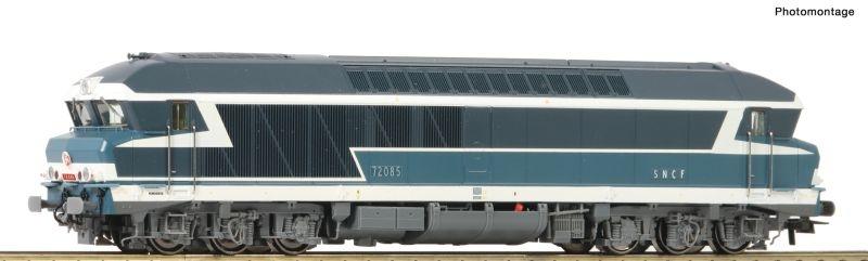 Diesellokomotive CC 72000 der SNCF, DC, Spur H0