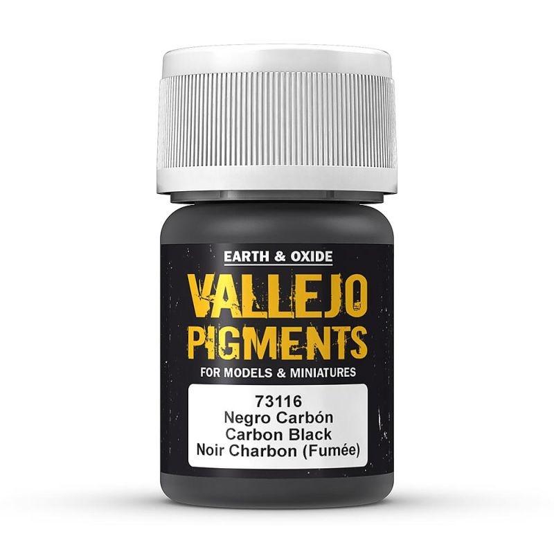 Pigmente Karbonschwarz, 30 ml