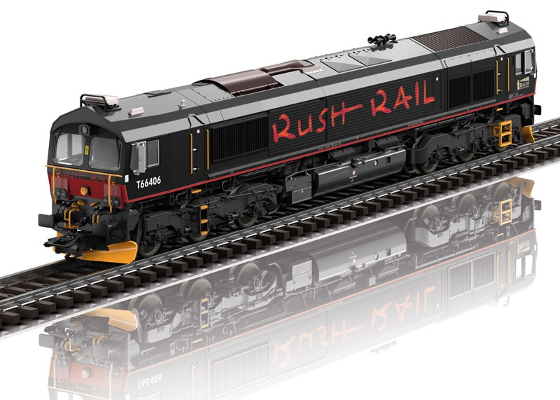 Diesellok Class 66 der RushRail, mfx+, Sound, AC, Spur H0