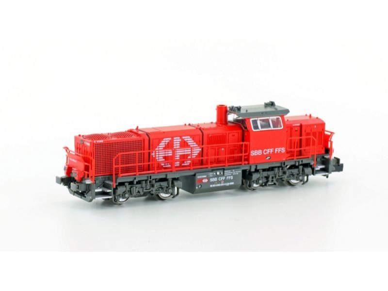 Diesellok Vossloh Am843 der SBB Infra, Epoche V, Spur N