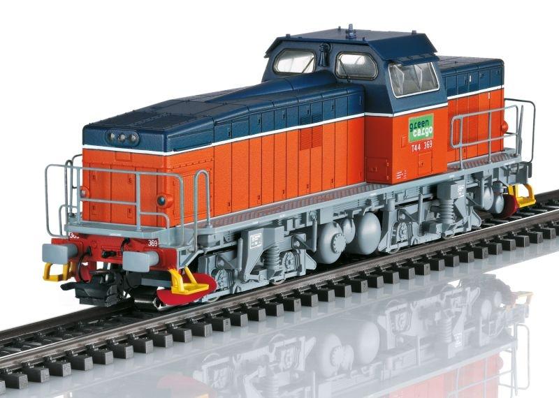 Schwere Diesellok T44 Green Cargo SE, Sound, mfx+, AC, H0