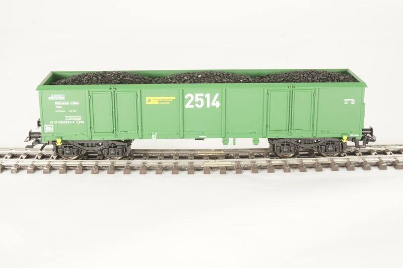 Sondermodell Offener Güterwagen Eaos der DE 2514 AC, Spur H0