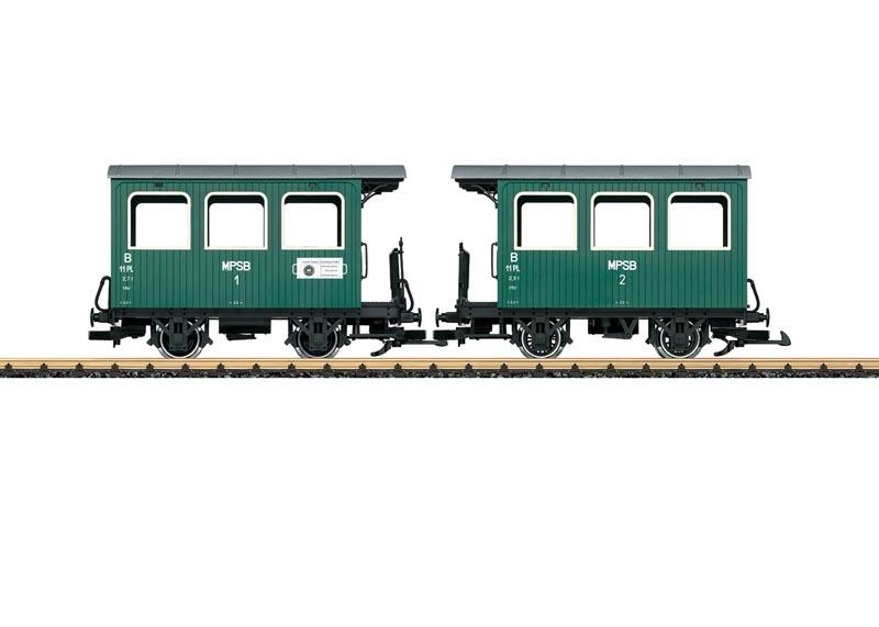 Personenwagen der MPSB, Spur G