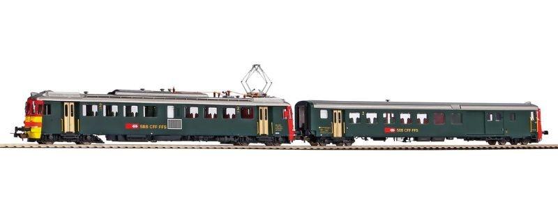 Sound-Triebwagen + Steuerwagen RBe 4/4 Seetal, Ep.IV, H0