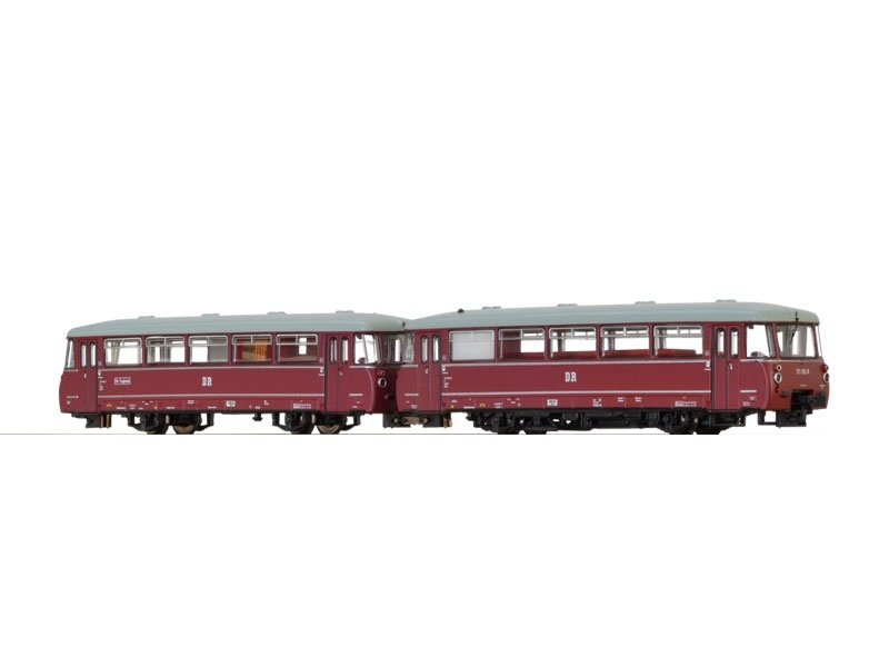 Verbrennungstriebwagen VT171 der DR, IV, Sound, DC, Spur N