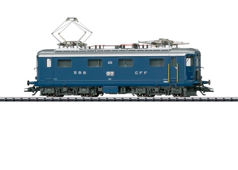 E-Lok Serie Re 4/4 I blau der SBB, Sound, mfx, DC, Spur H0