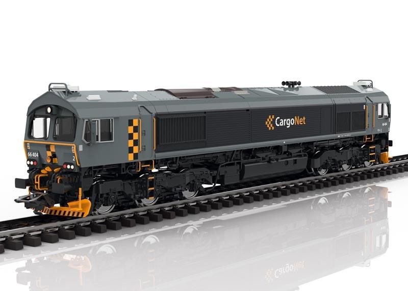 Diesellok Class 66 der CargoNet, Sound mfx+ DCC, AC, Spur H0