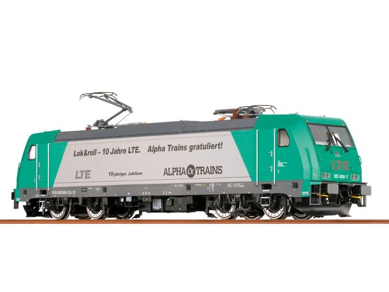 E-Lok TRAXX BR 185.2 der LTE, VI, AC/S, Digital, H0