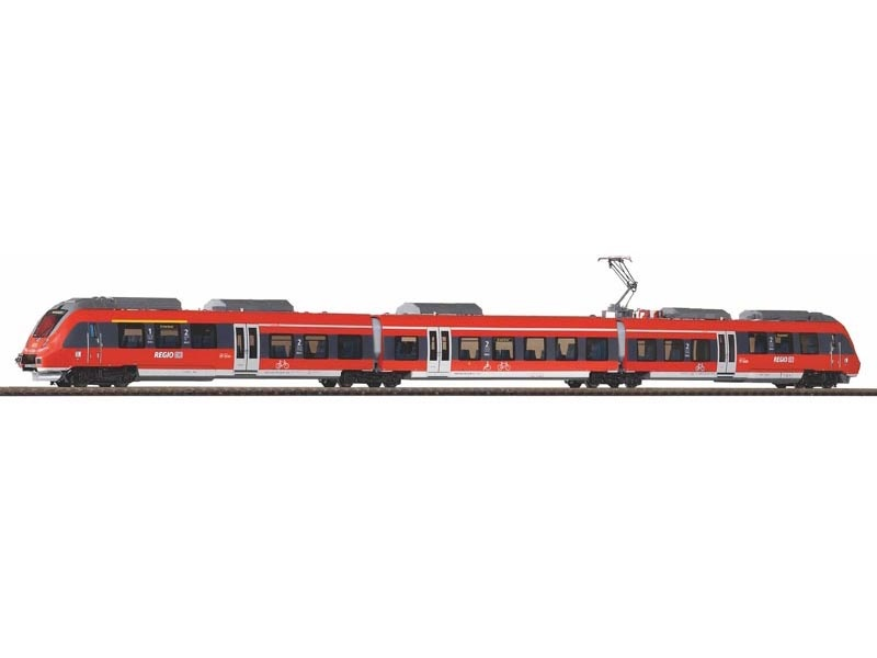 3tlg. Elektrotriebwagen BR 442 Talent 2 DB AG, DC, Spur TT