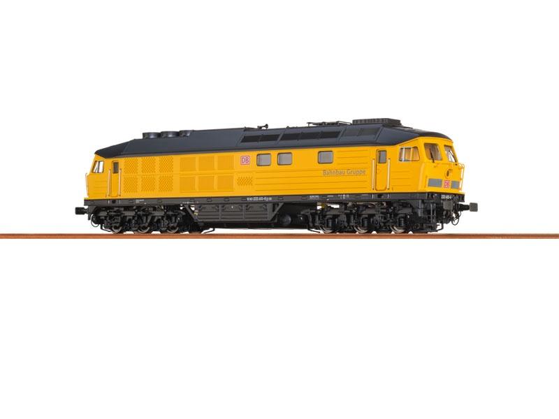Diesellok BR 233 der DB, Bahnbau Gruppe, Sound, DC, Spur N