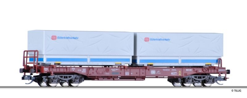 Taschenwagen der DB, Ep. IV, Spur TT