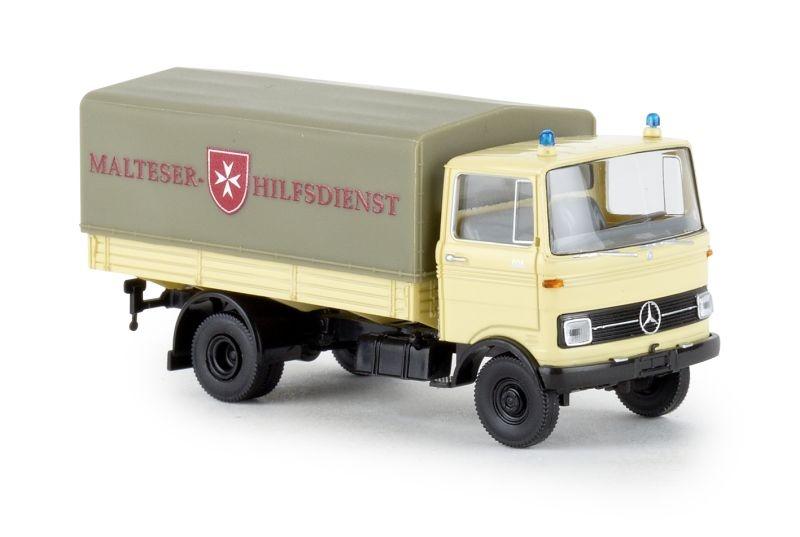 Mercedes LP 608 PP Malteser Hilfsdienst, Spur H0