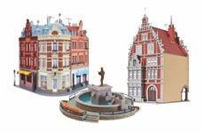Stadt und Stadthäuser