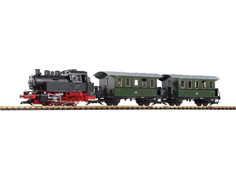 Start-Set Personenzug BR 80 mit Sound+Dampf, Spur G