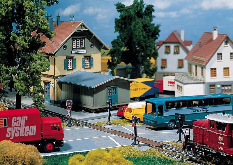 Bahnübergang Car System H0