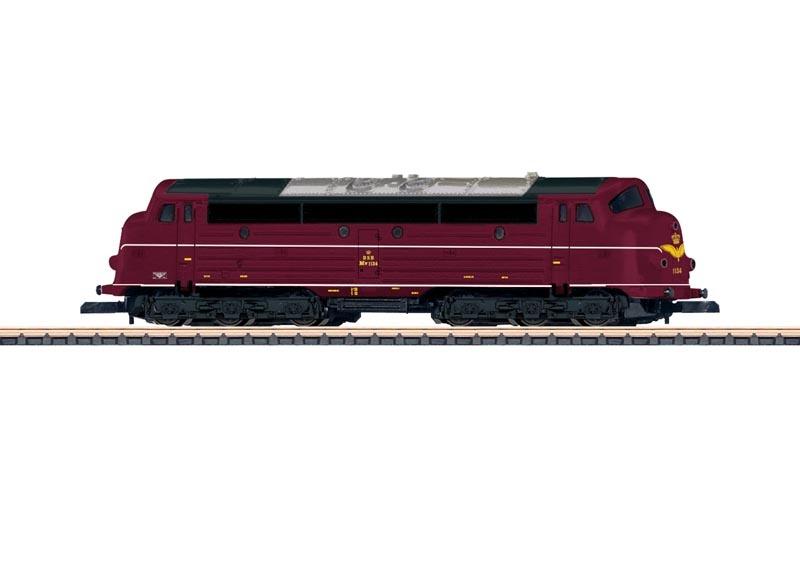 Diesellokomotive Serie MV der DSB, Spur Z