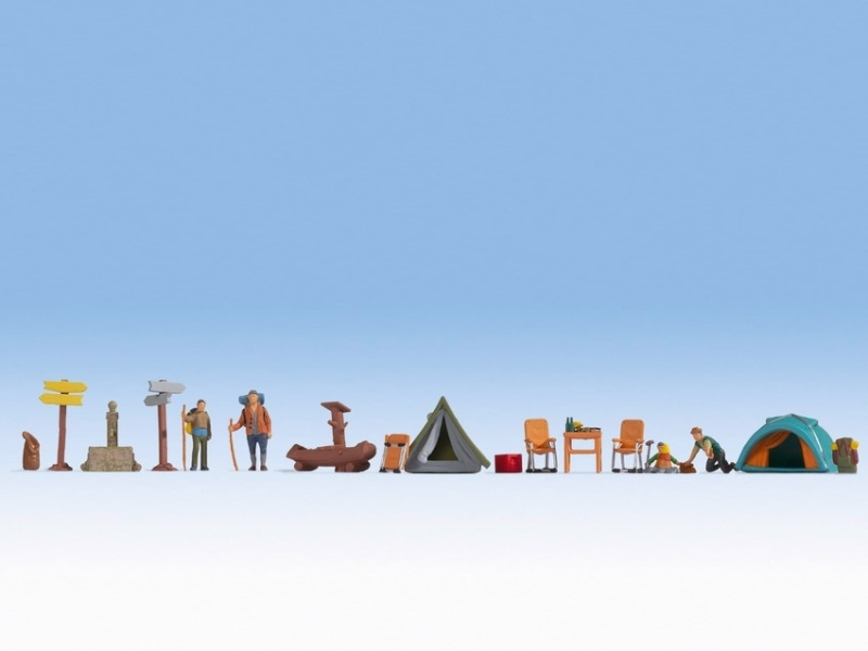 Figuren-Themenwelt Camping, H0